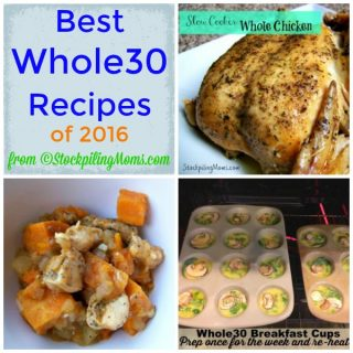 Best Whole30 Recipes of 2016