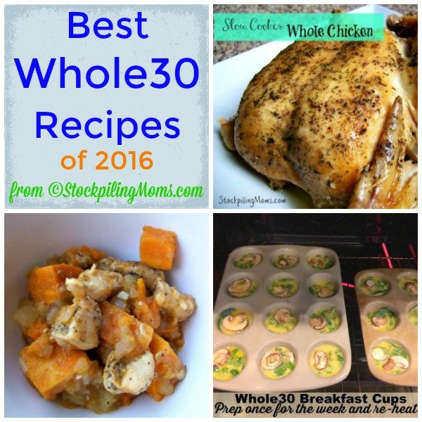 Best Whole30 Recipes of 2016 that taste delicious!