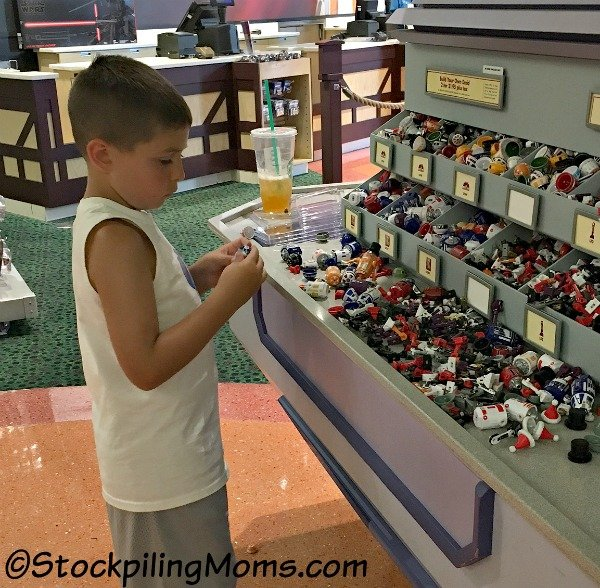 Disney Springs Droid Factory is a must visit if you are at Disney World and a Star Wars fan!