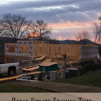 House Update – Framing Time