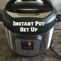 Instant Pot Set Up