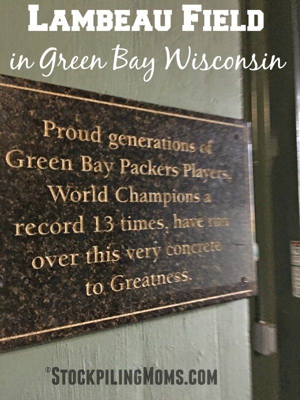 Have you ever thought about traveling to Lambeau Field in Green Bay Wisconsin, if so YOU should!