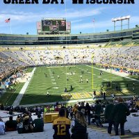 Lambeau Field in Green Bay Wisconsin