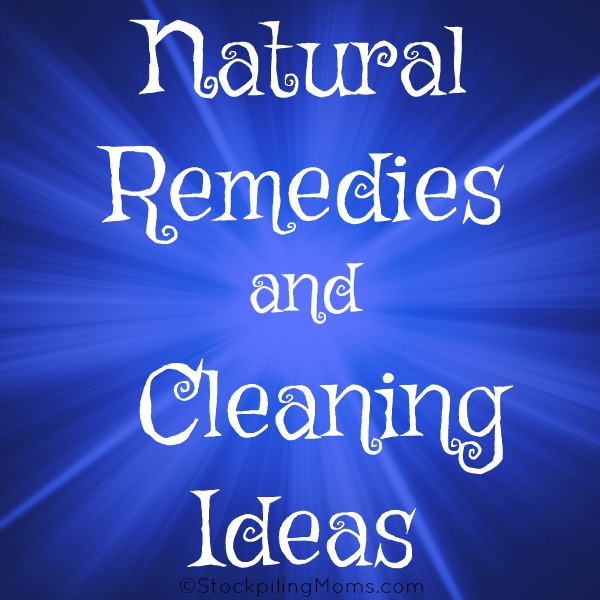 Do you want to live a more natural way this year, then this list of Natural Remedies and Cleaning Ideas is for you!