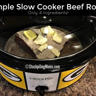 Simple Slow Cooker Beef Roast