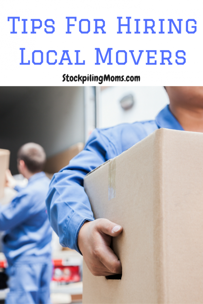 Tips For Hiring Local Movers