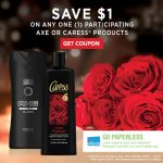 Find Your Scentmate – Save $1 on AXE + Caress Body Wash at Walgreens