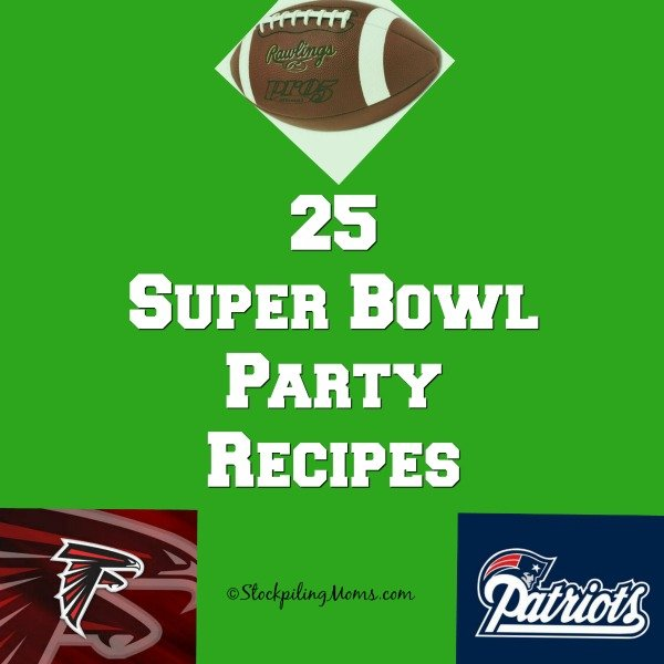 25 Super Bowl Party Recipes that will make your party great!