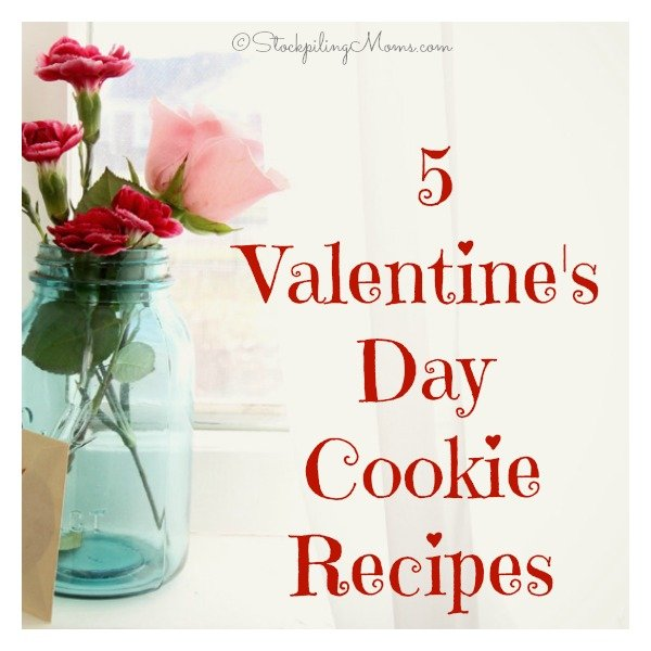 5 Valentine's Day Cookie Recipes that you can make for your special loved ones!