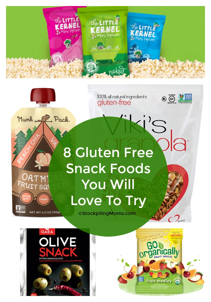 8 Gluten Free Snack Foods You Will Love To Try