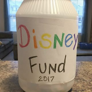 DIY Disney Fund Jar
