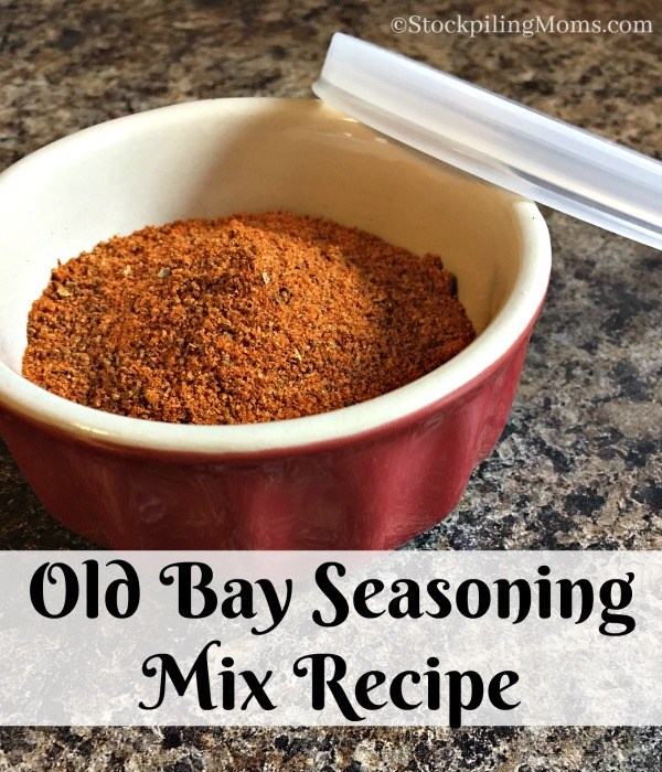 Old Bay Seasoning Mix Recipe that you can make right at home for all your seafood and lent recipes!