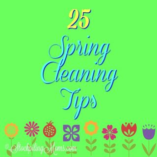 25 Spring Cleaning Tips