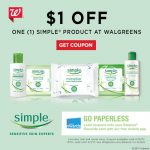 Save on Simple at Walgreens with clip to card coupon