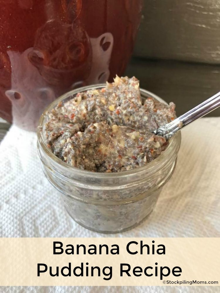 Banana Chia Pudding Recipe is a great way to get protein and fulfill your sweet tooth without eating sugar!