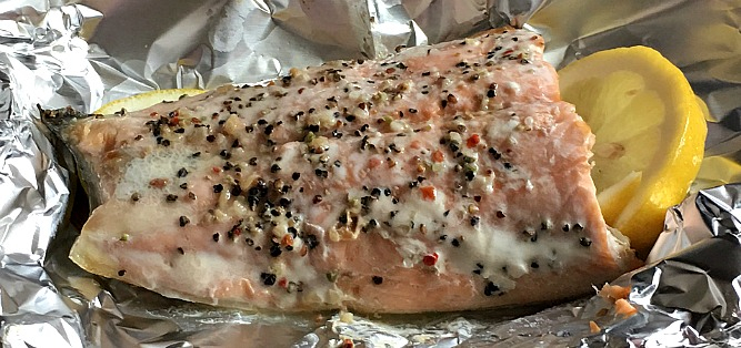 how to cook trout in foil
