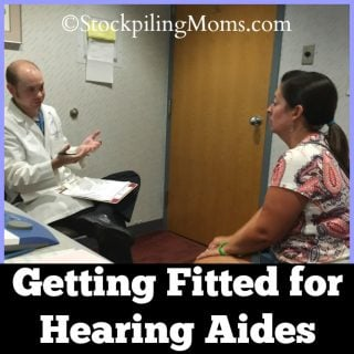 Getting Fitted for Hearing Aides