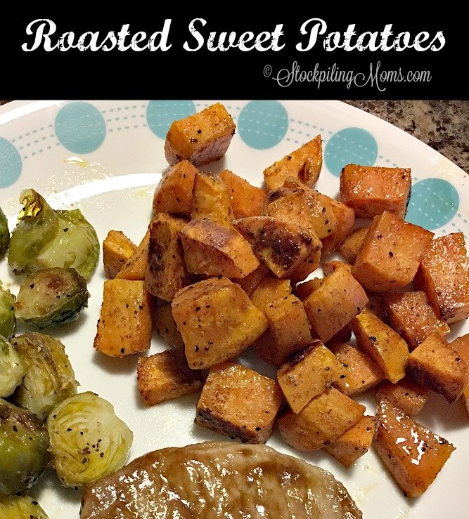 This easy recipe for Roasted Sweet Potatoes tastes delicious and is gluten free!
