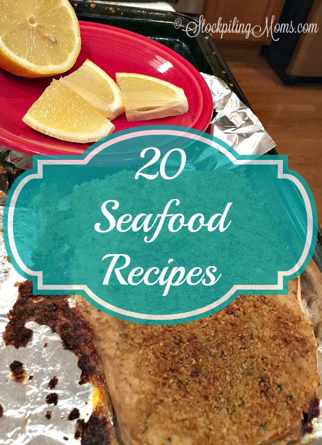 20 Seafood Recipes that are perfect for Lent or to make for healthy dinners!