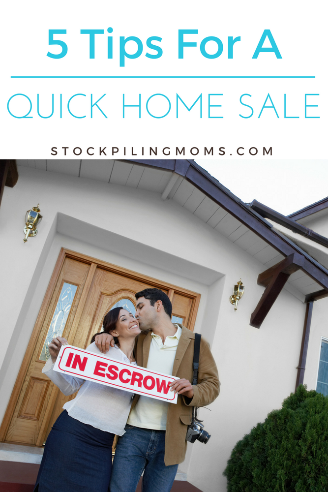 Don't miss our tips for a Quick House Sale that will bring you money and make closing easy to manage!