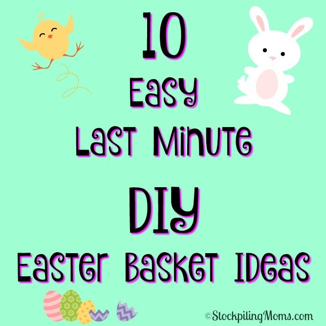 10 easy last minute diy easter basket ideas negle Image collections