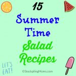 15 Summer Time Salad Recipes