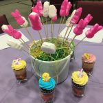 Easter Dessert Idea – Peep on a Stick