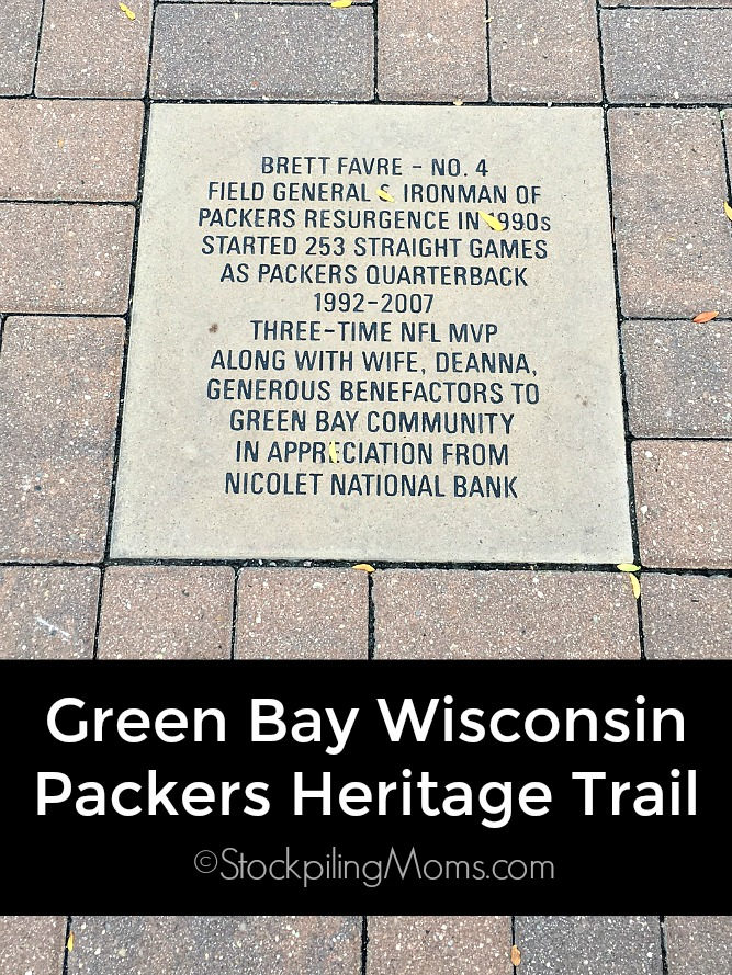 Green Bay Wisconsin Packers Heritage Trail is a must do if you are visiting the are. It is a great way to explore the city!