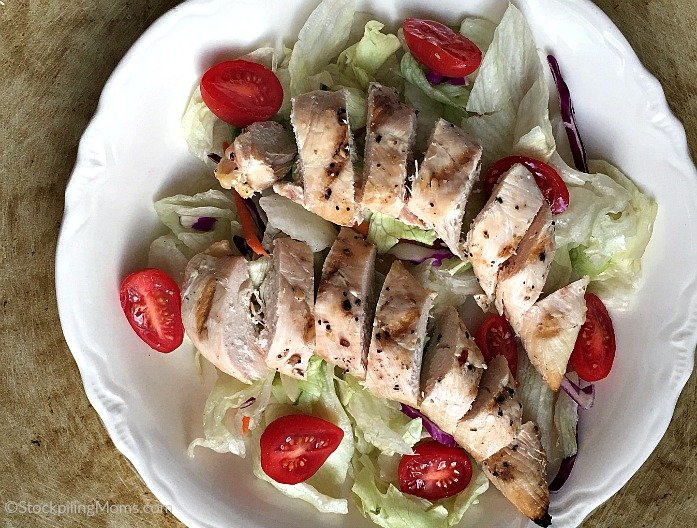 Grilled Chicken Salad is the perfect summer dinner or take to work lunch meal! So easy to make!