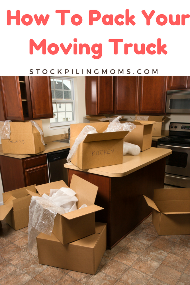 Learn How To Pack Your Moving Truck with our easy step by step guide!