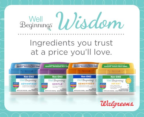 Shop Well Beginnings Infant Formula exclusively at Walgreens.
