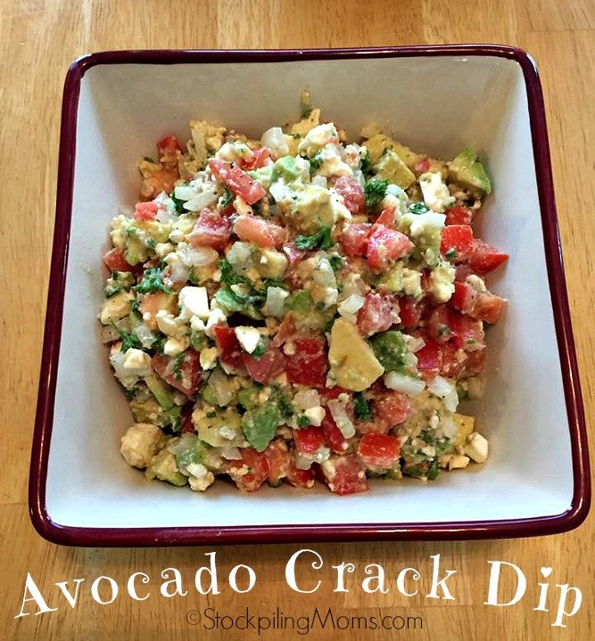 Avocado Crack Dip is perfect for summer time! Be sure to make this delicious appetizer recipe, you will not be disappointed!
