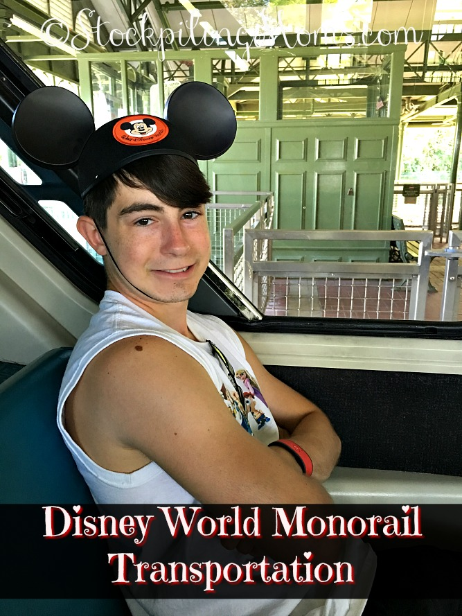 Disney World Monorail Transportation is a must do, even if you are not staying at a resort on the track!