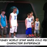 Disney World Star Wars Kylo Ren Character Experience