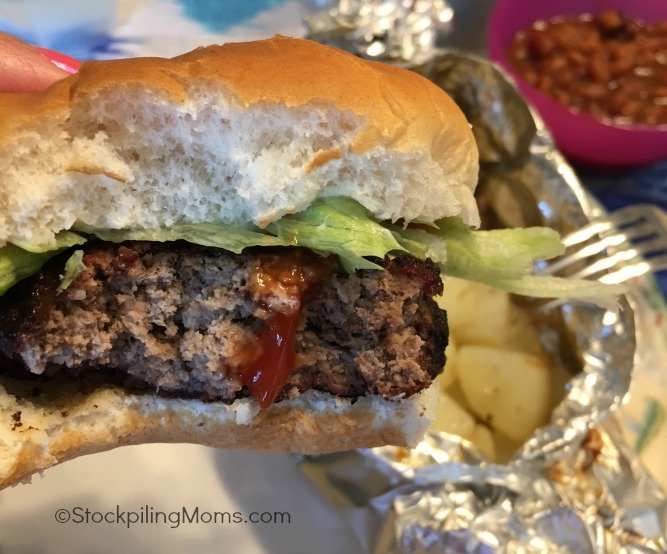These delicious Easy Grilled Hamburgers is the perfect summer recipe!