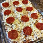 Garlic Knot Pizza Casserole