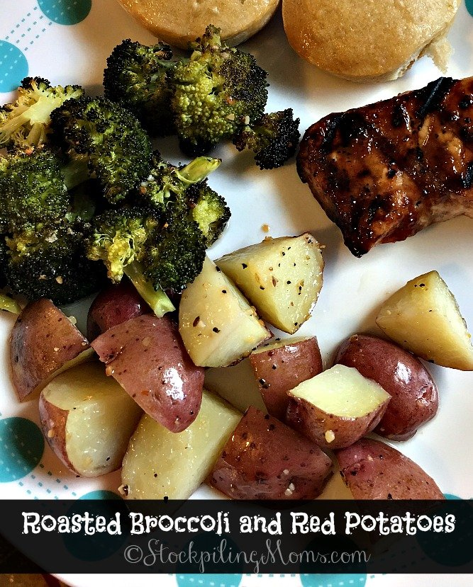 Easy Way To Cook Roasted Red Potatoes: Roasted Broccoli And Red Potatoes