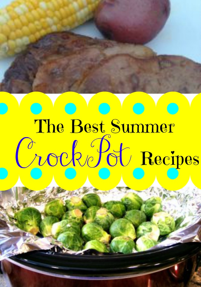 The Best Summer Crockpot Recipes to keep your house cool so you do not have to use the oven!