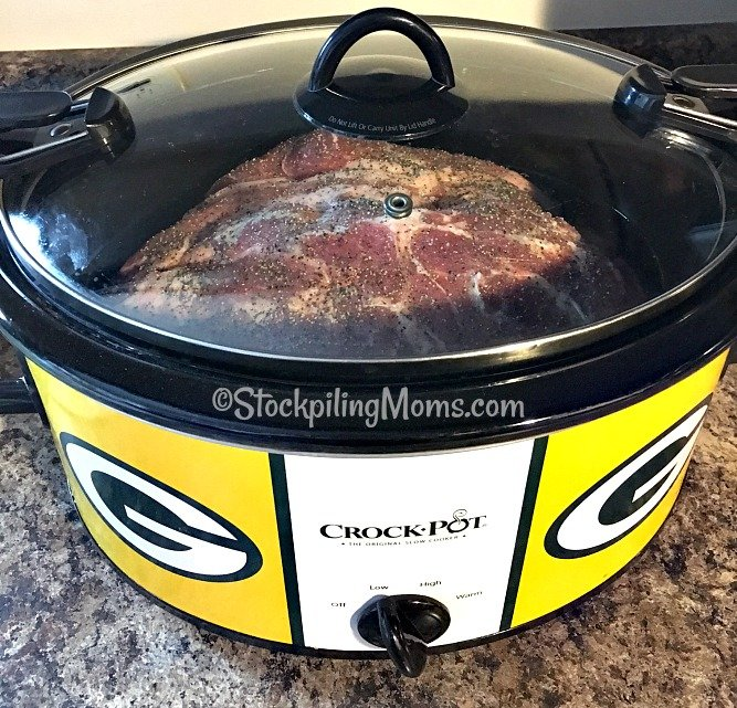 Best Slow Cooker Pork Roast recipe is so easy to prepare with only 2 ingredients! Tastes amazing too!