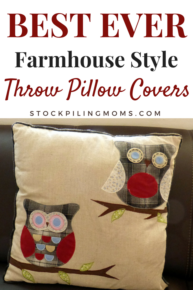 Best Ever Farmhouse Style Pillow Covers