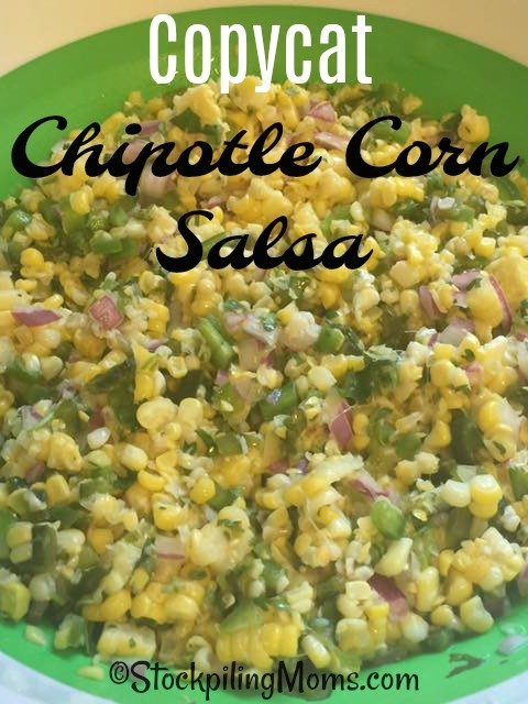 Do you love Chipotles's corn salsa as much as me??? If so check out this Copycat Chipotle Corn Salsa recipe!!!