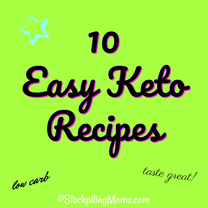10 Easy Keto Recipes that you can make with ingredients in your kitchen!