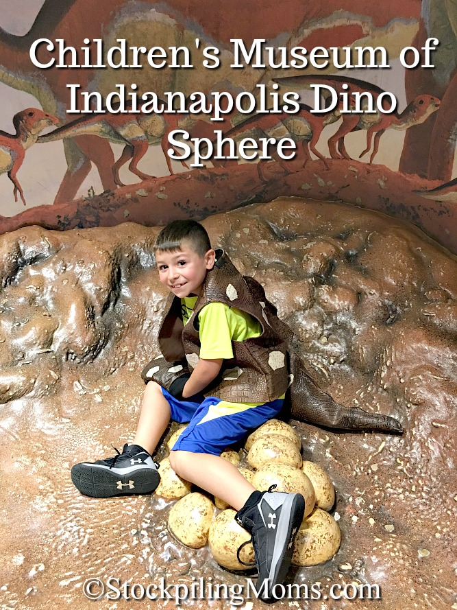 Children's Museum of Indianapolis Dino Sphere s a must do if visiting! Children of all ages will have so much fun!