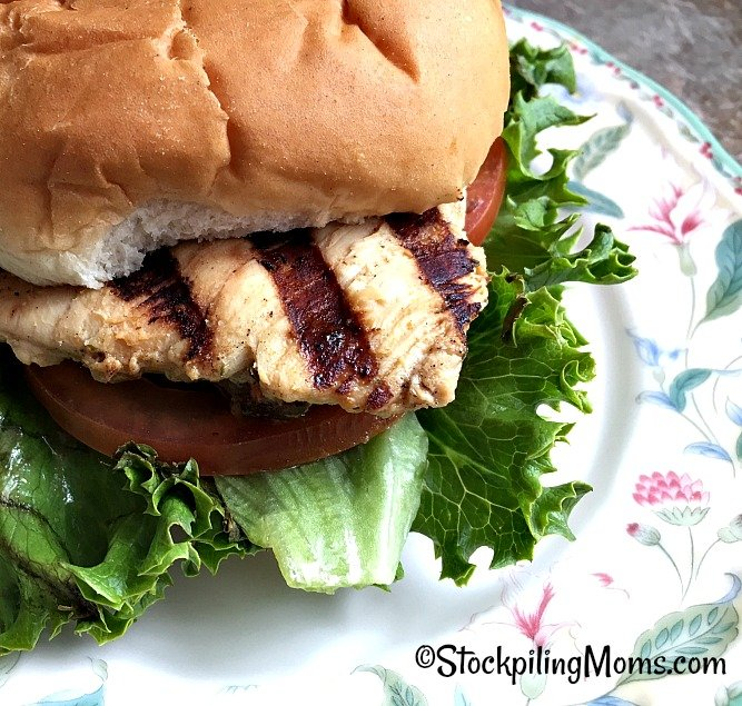 Copycat Chick fil A Grilled Chicken Sandwich tastes just like getting it at the restaurant!