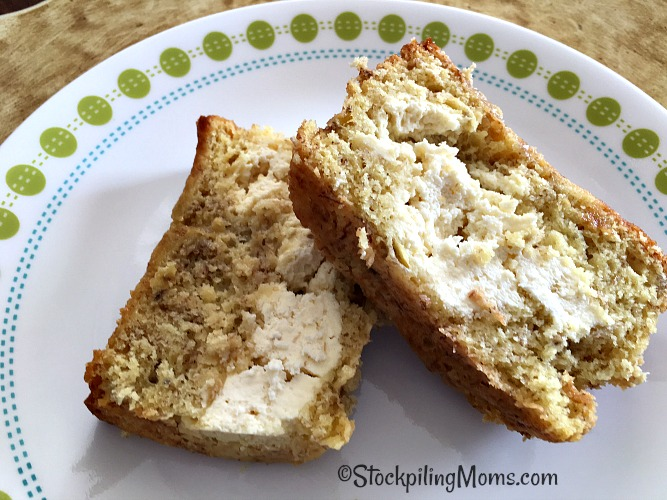 Cream Cheese Banana Bread Recipe is one of my favorites to make and enjoy! I like it for breakfast or with an afternoon tea. Be sure to give it a try!