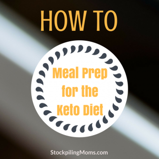 How to Meal Prep for the Keto Diet