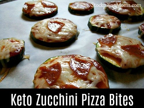 Keto Zucchini Pizza Bites is the tastiest low carb appetizer for everyone!