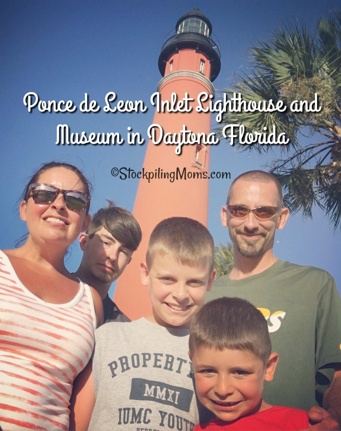 Ponce de Leon Inlet Lighthouse and Museum in Daytona Florida is a must see historical landmark if visiting the area!