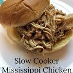Slow Cooker Mississippi Chicken Sandwiches