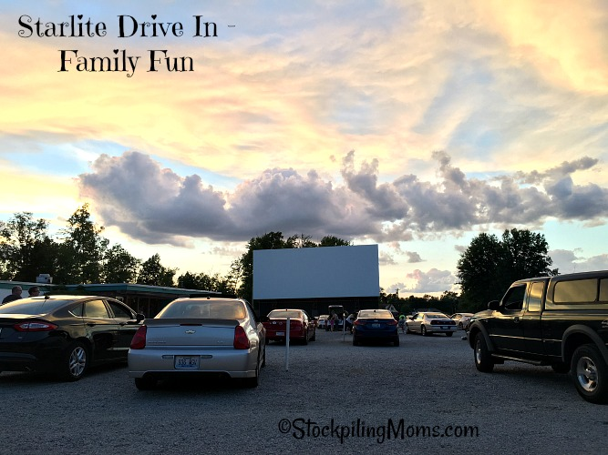 Starlite Drive In is a great Family Fun idea with the kids for this summer!